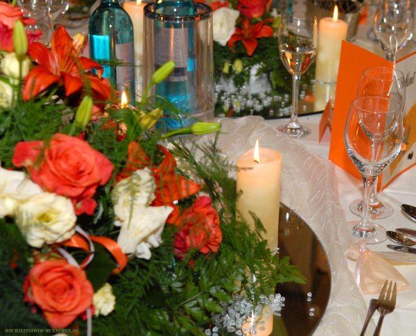 Hochzeit-Accessoires 03: Hochzeitstisch Dekoration