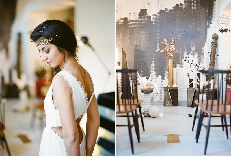 industrial loft wedding inspiration 0007a
