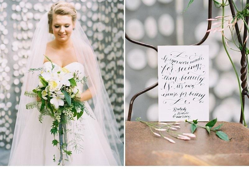 romantic natural wedding inspiration 0002