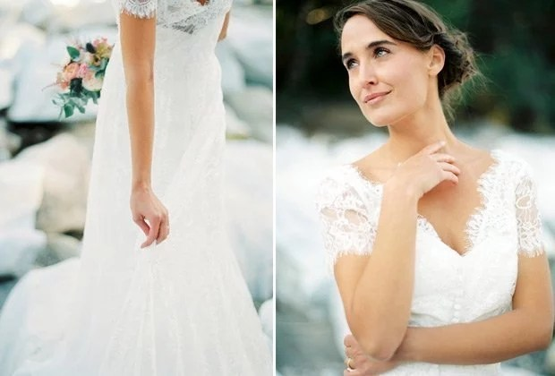 Sinn und Sinnlichkeit – hauchzartes Brautshooting von Melanie Nedelko