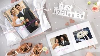 Ein Fotobuch als Geschenk: Ein selbst gestalteter Bildband bleibt dem Brautpaar als wertvolles Erinnerungsbuch.