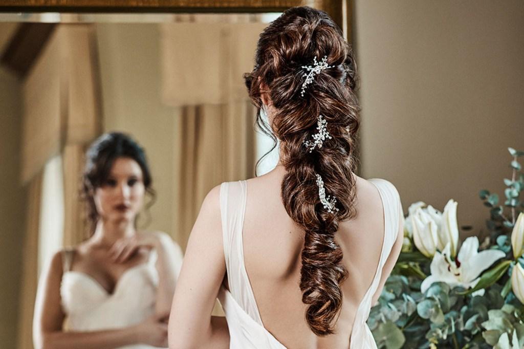 Extensions für die Brautfrisur