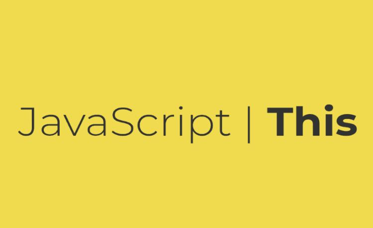 Từ khoá this trong JavaScript