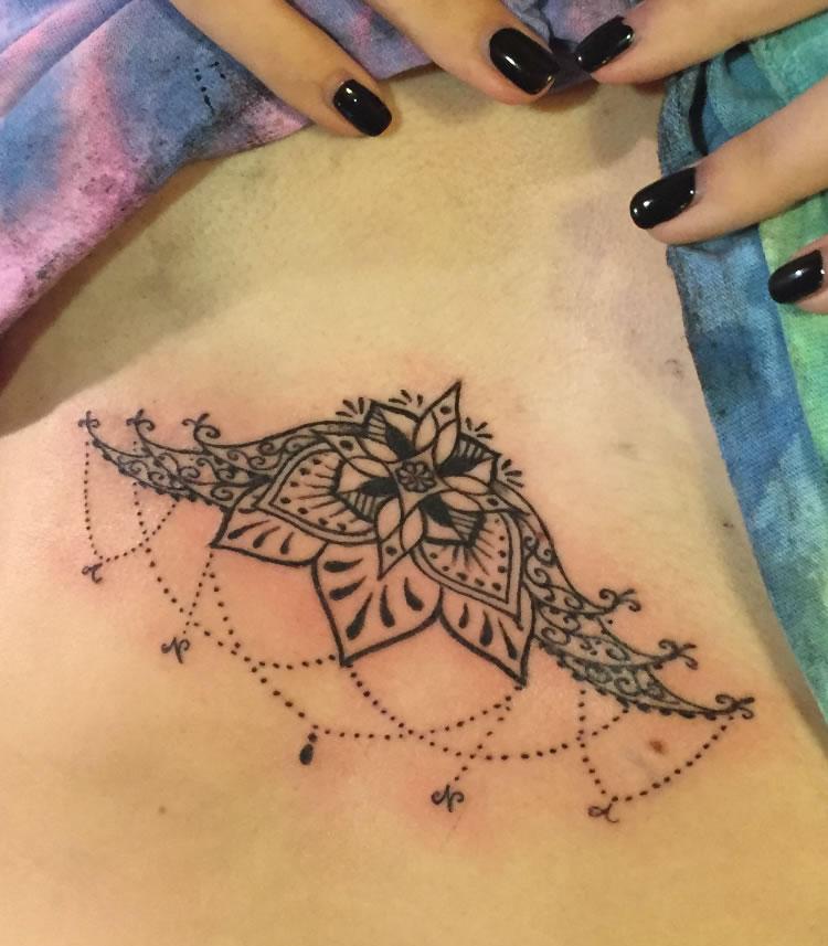 tattoo close up