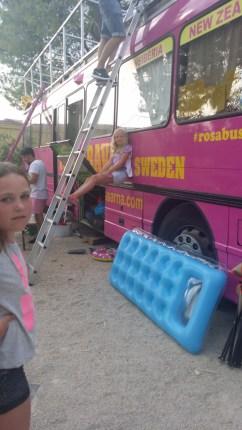 Måns vår fina buss