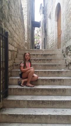 Lisa i gamla stan i Split