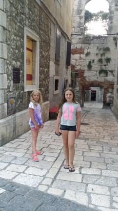 Gamla stan i Split