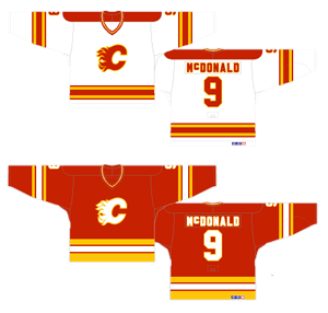 super popular 68286 a53a7 Worst to First Jerseys: The Calgary Flames – Flamesnation
