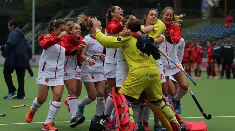 hockey, hockeyesp, redsticks, mundial, hwl2017, adrian lock, españa, selección española femenina