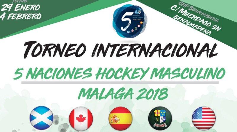 hockey hierba, hockeyesp, redsticks, 5 naciones málaga