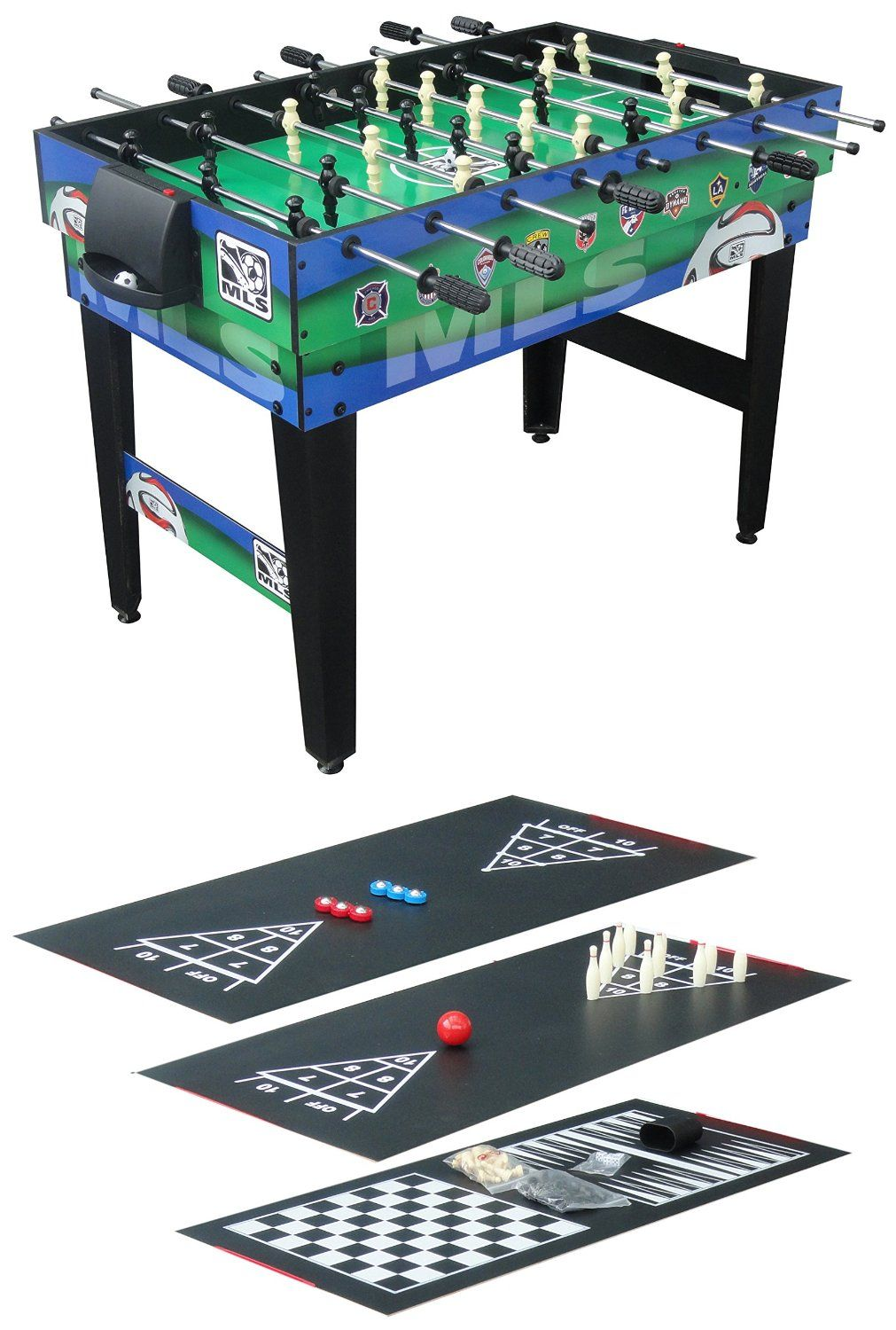 Triumph Sports 48 Inch MLS 10 In 1 Combo Table · U003eu003e
