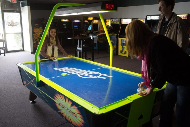 The Phenomenon That Was Air Hockey