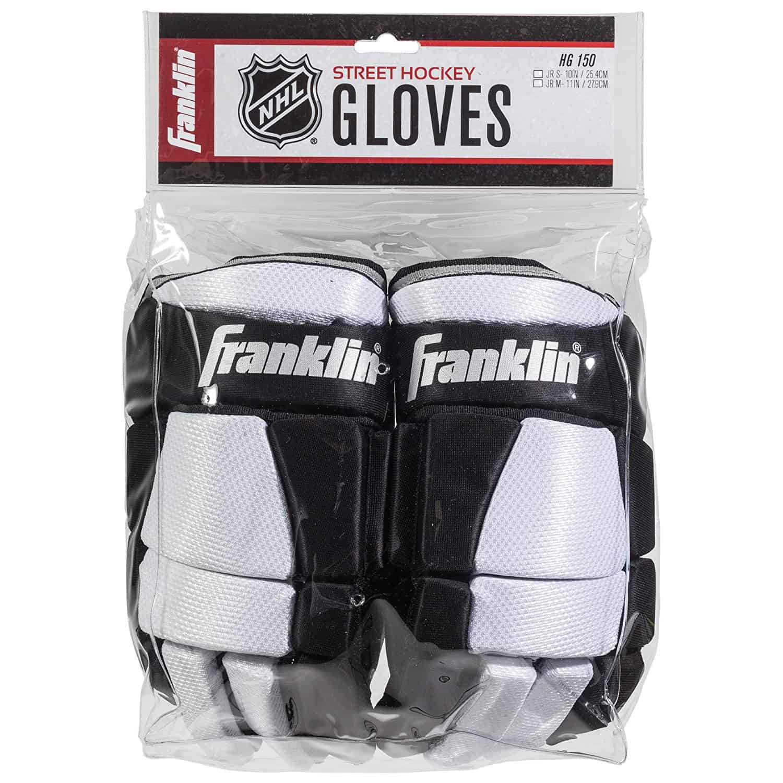 Franklin Sports NHL SX Pro HG 150 Gloves, Junior Medium/11-Inch