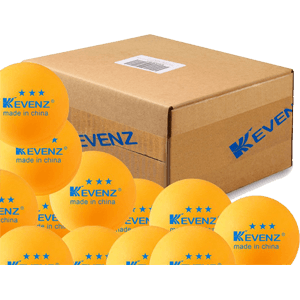 100-Pack-KEVENZ-3-Star-40mm-Table-Tennis-Balls