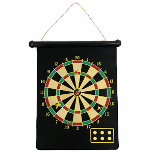Magnetic-Roll-up-Dart-Board
