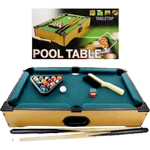Mini Table Top Pool Table with Cues