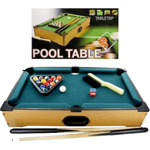bulk-buys-OB444-Tabletop-Pool-Table,-Brown,-Green-