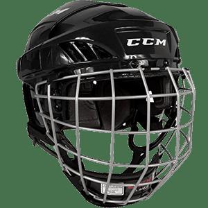 CCM-FitLite-40-Hockey-Helmet-Combo,-Medium,-Black