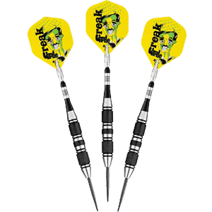 Viper-The-Freak-Steel-Tip-Darts,-22-Grams
