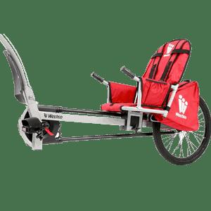 Weehoo-Kids-Turbo-Bicycle-Trailer,-Red-andBlack,-One-Size