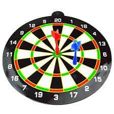 Finebaby Magnetic Dartboard Toy Dart Game