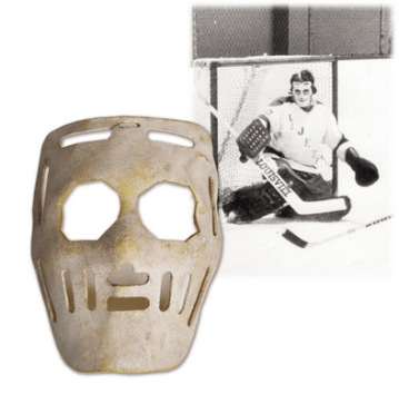 Image result for old fashioned hockey goalie mask