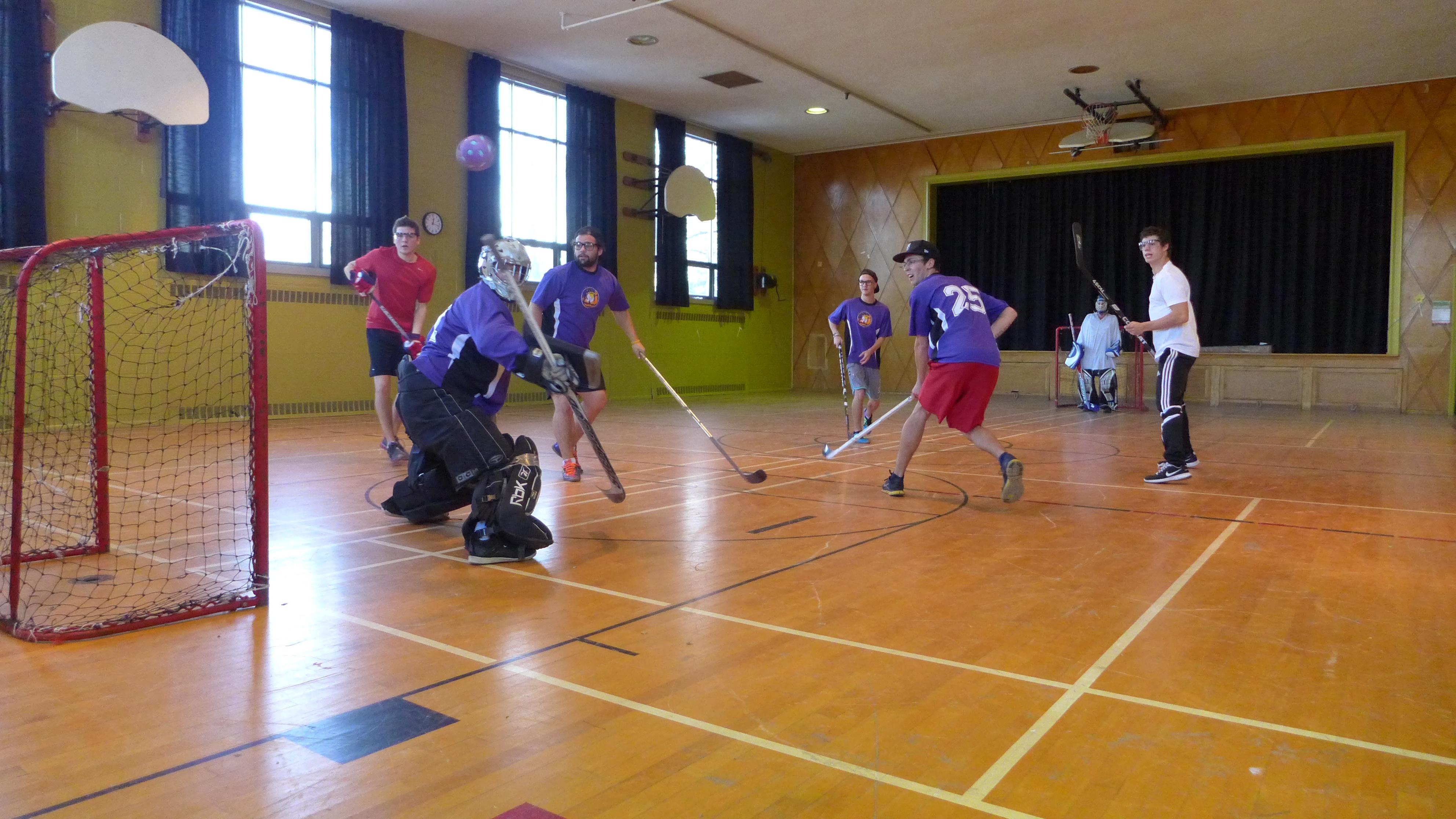 Gym Hockey Tournoi De Hockey Cosom Au Centre Lemoyne D