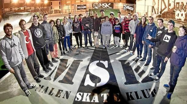 malen skate kluba