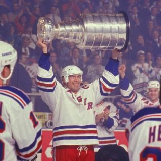 Messier-Rangers-Cup Mark Messier Edmonton Oilers Mark Messier New York Rangers Vancouver Canucks