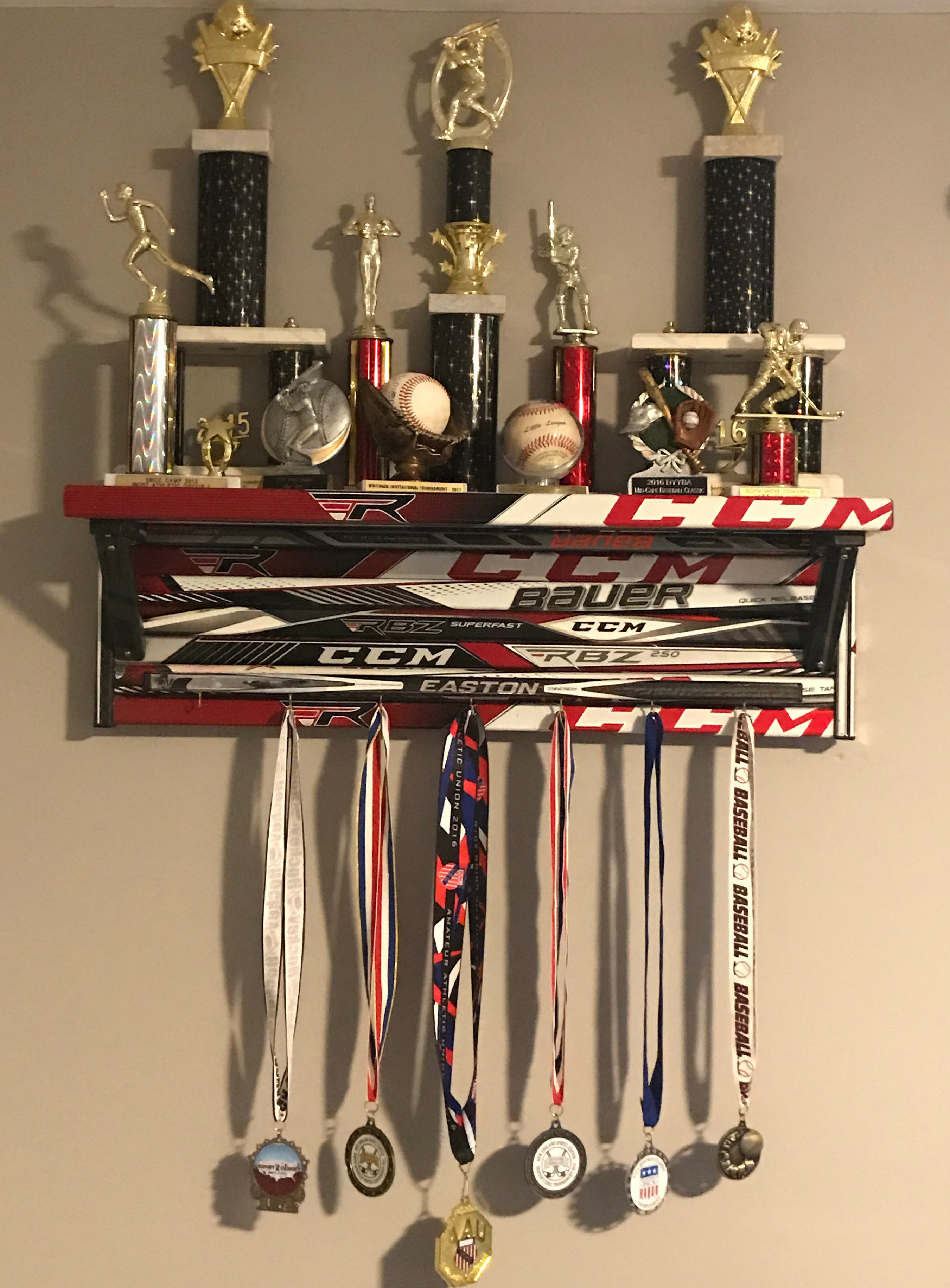 Shelf Hockey Stick Builds