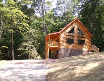 Hocking Hills Cabins Lodge Pictures