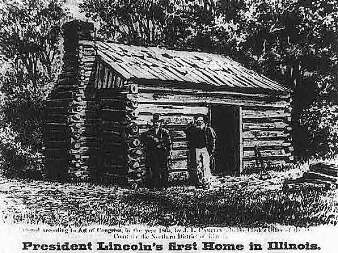 Abraham Lincoln ngôi nhà thời niên thiếu