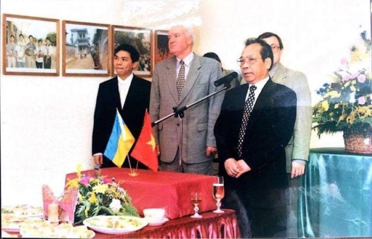 Phạm Nhật Vượng hồi trẻ ở Ukraine