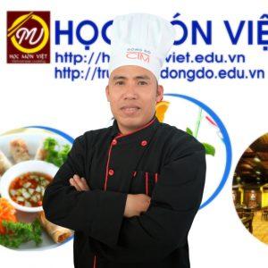 Thầy Nguyễn Văn Đại giáo viên Học món Việt