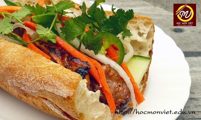 khóa học làm nhân bánh mì - học Bếp theo yêu cầu - Học Món Việt