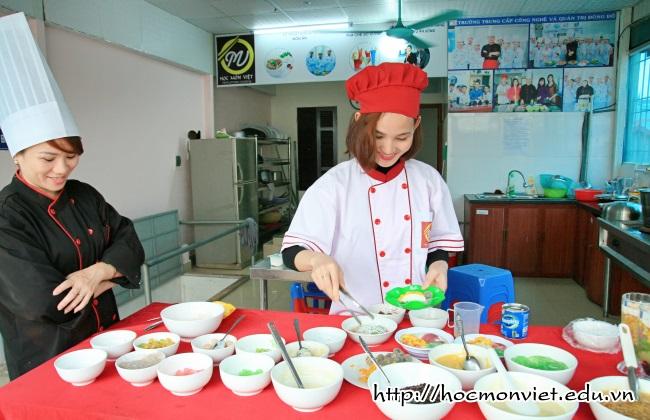 khóa học nấu chè mở quán - Học Món Việt