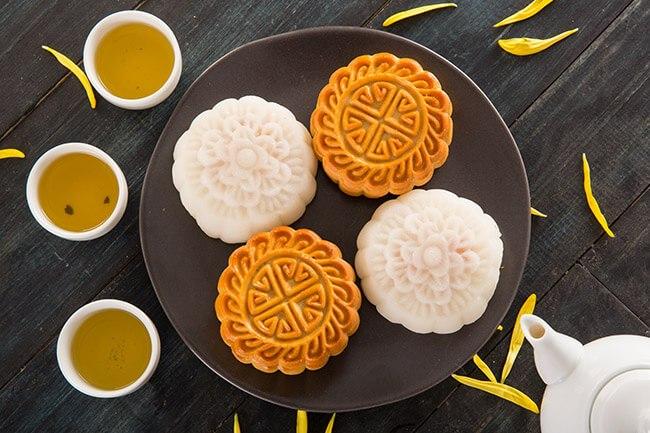 Bánh Trung thu bánh nướng bánh dẻo - Học Món Việt