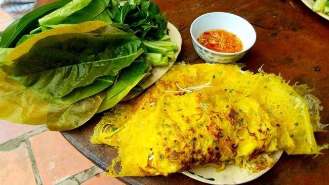7 món ăn nhất định phải thử ở Hà Nội: bánh xèo học nấu ăn tại Học Món Việt