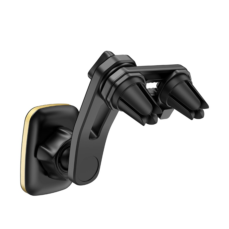 hoco ca57 leader double air outlet magnetic car holder clip