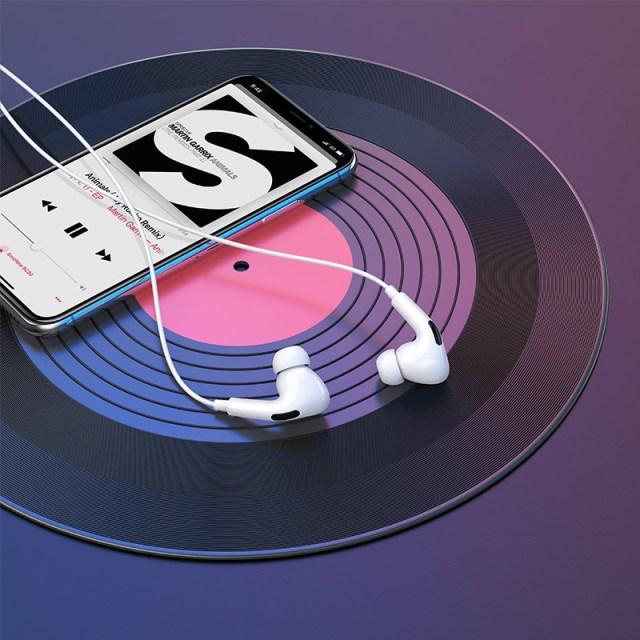 hoco m1 pro original series earphones for lightning overview