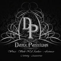 Dark Passions - DP Logo - 512 x 512 (With Product Text) 2