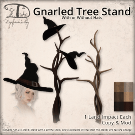 DDD - Gnarled Tree Stand