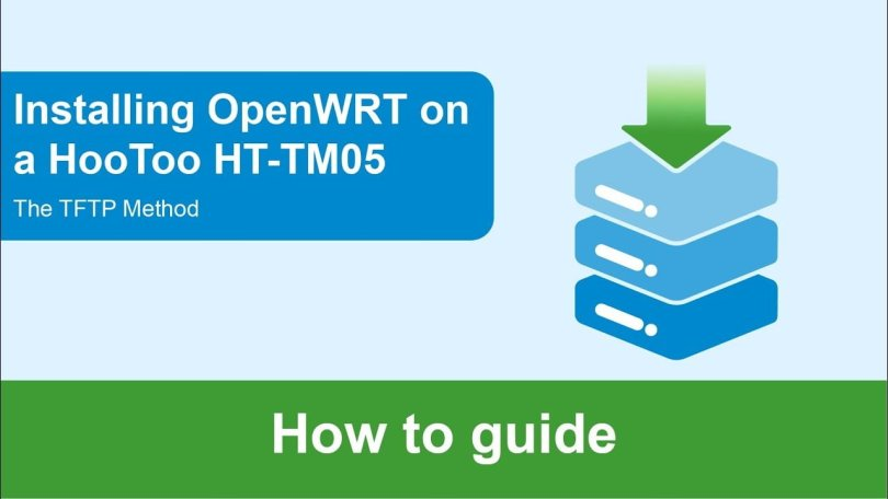 Installing OpenWrt on the HooToo TripMate HT-TM05 via TFTP
