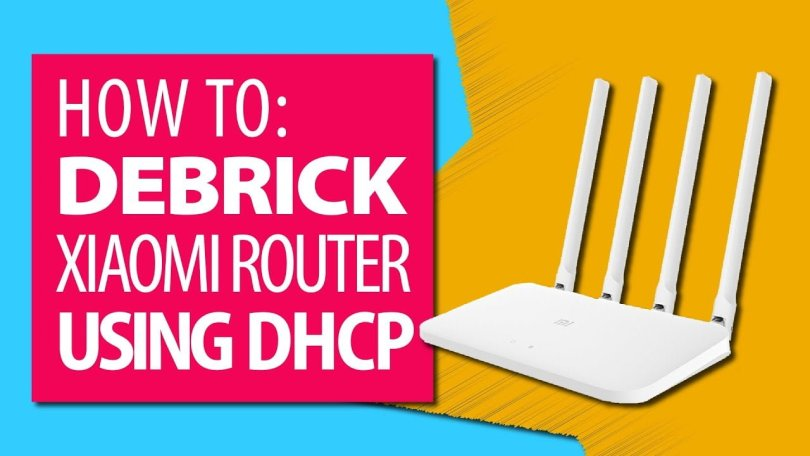 Setting up DHCP to debrick the Xiaomi 4A router (OpenWrt)