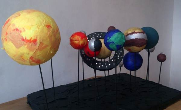 Build a Styrofoam Solar System Mars - Pics about space
