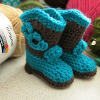 Crochet With HodgePodge: Cowboy Boots!!