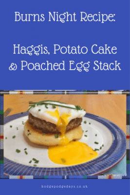 Recipe: Haggis, potato cake & poached egg stack