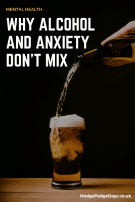 Mental Health: Why alcohol and anxiety don't mix