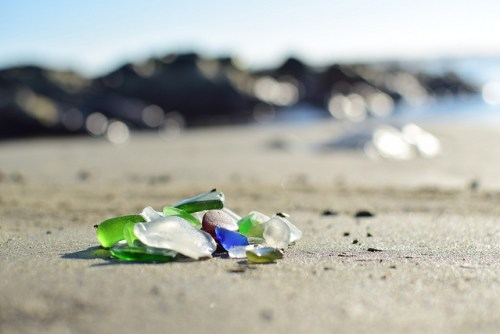 Collecting Sea Glass in the UK