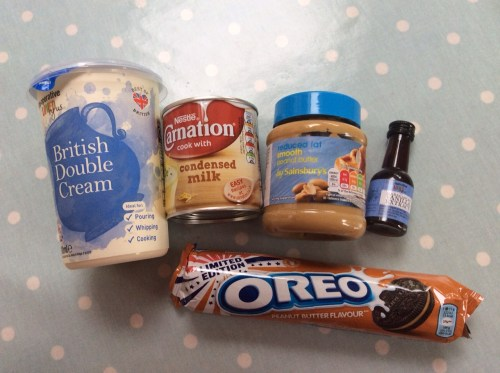 peanut butter oreo ice cream